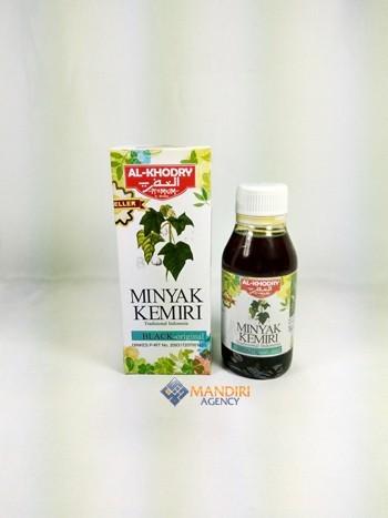 herbal » herbal lain-lain » minyak kemiri al-khodry • toko buku Gambar Minyak Kemiri Herbal
